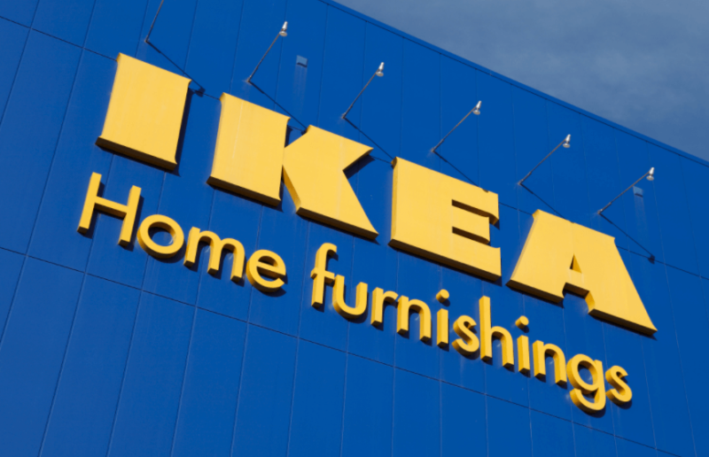 ゲーミングチェアを販売するIKEAの店舗
