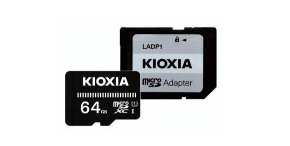 キオクシア製SDカードの外観