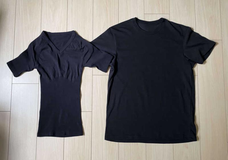 おすすめ加圧シャツのサイズ