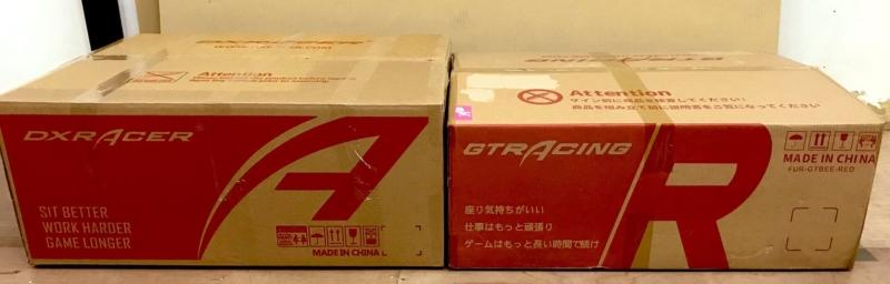 GTRACINGのパッケージ