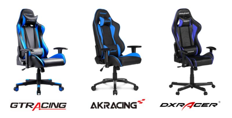 GTRACINGのGT002とAKRacingやDXRacerとの比較