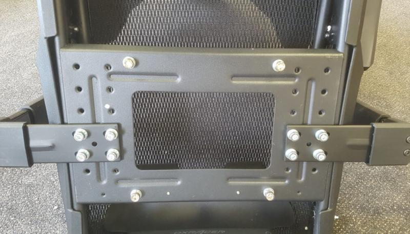 DXRACER Airの座面下の構造